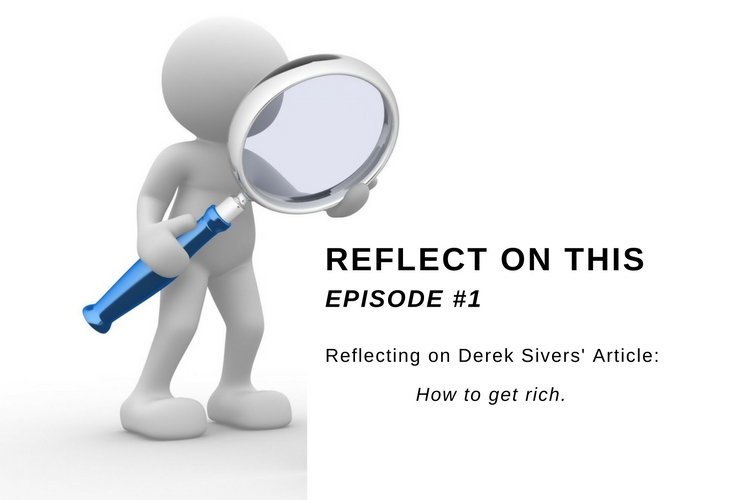 Reflect On This - Episode 1 Core Skills